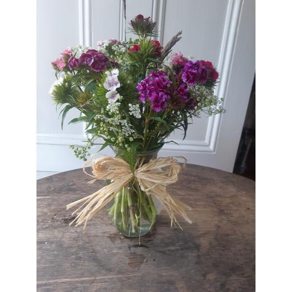 Irish grown flowers Vase Arrangement